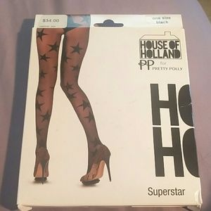 🆕Superstar House of Holland for Pretty Polly